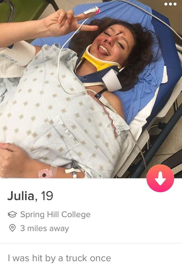 20 Hilarious Tinder Profiles Totally Worth a Swipe