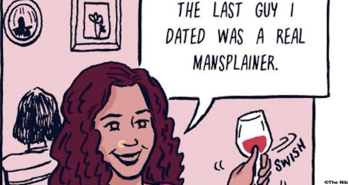 Brilliant Comic Perfectly Illustrates the Definition of Mansplaining