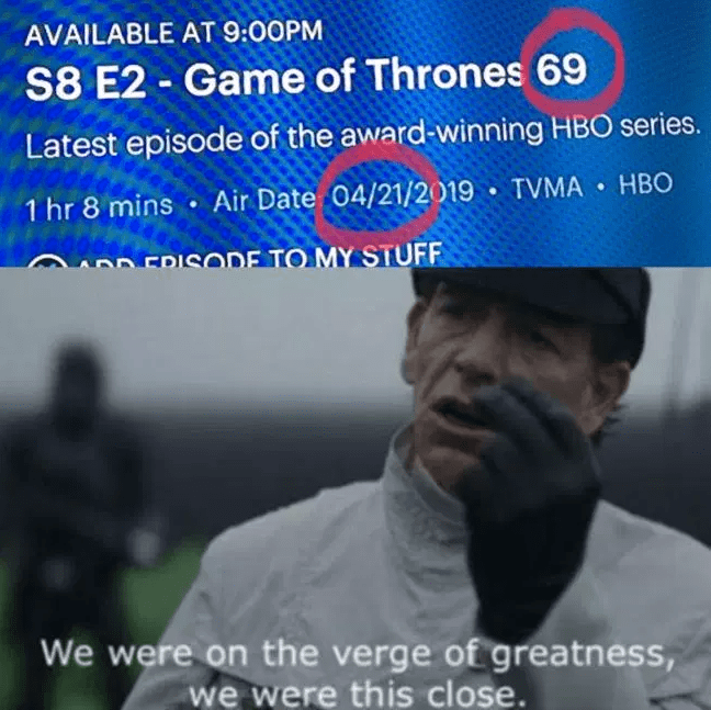 29 Memes From Game of Thrones Season 8, Episode 2 That Will