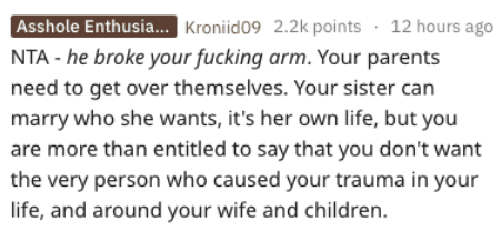 Guy Wants to Know If He's Wrong for Cutting His Sister out