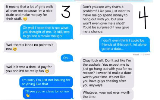 This Series of Texts Shows What Might Happen When a Woman