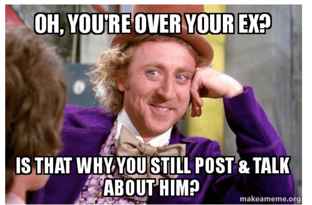 Cant get over ex meme